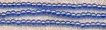 4mm Glass Pearl Round Bead Strand, LIGHT SAPPHIRE BLUE