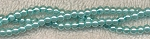 4mm Glass Pearl Round Bead Strand, POWDER BLUE